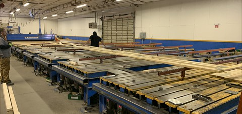 Mitek Gantry Tables with Planx