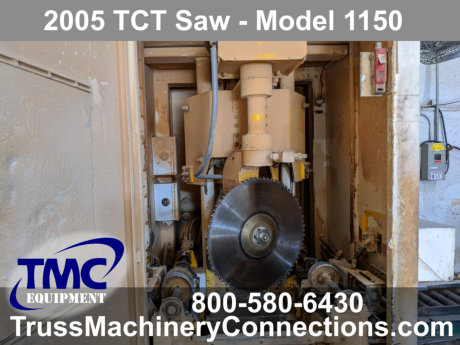 2005 TCT Saw for sale!