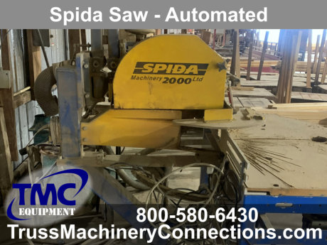 Automated Spida Saw for sale!