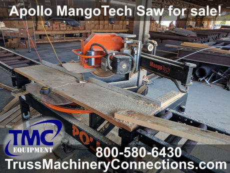 Apollo MangoTech Radial Saw for sale!