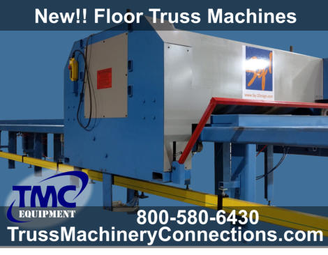 Square 1 Design Floor Truss Machinery for sale!
