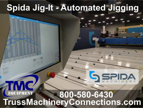 Spida Automated jigging for trusses