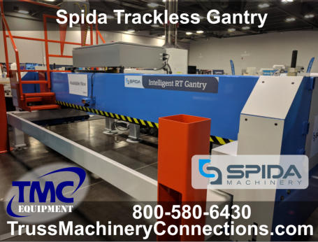 Spida Trackless Roof Truss Gantry System