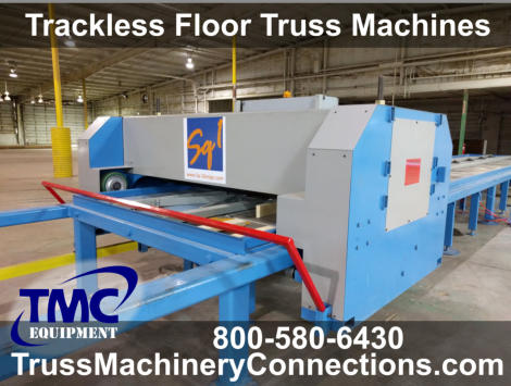 New Trackless Floor Truss Machinery